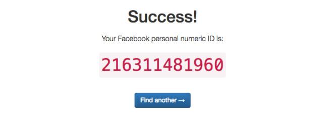 Facebook-ID herausfinden (3) ©COMPUTER BILD