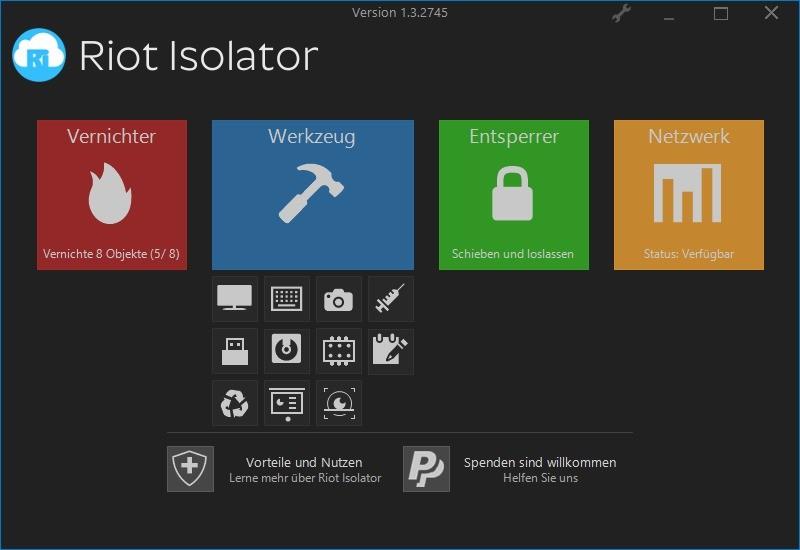 Screenshot 1 - Riot Isolator