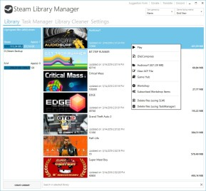 Steam Library Manager (SLM)