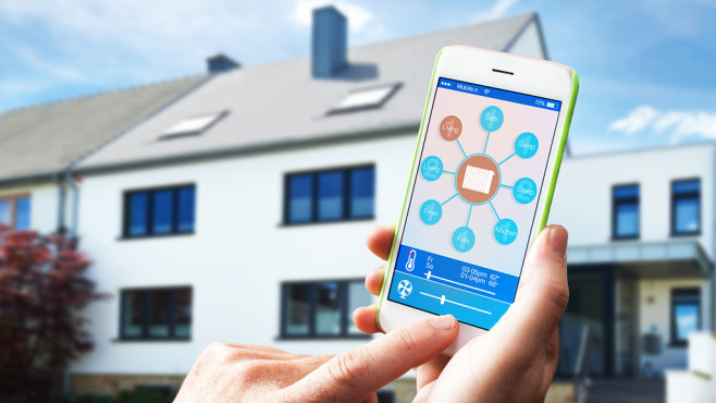 Smarte Haussteuerung©AA+W-Fotolia.com