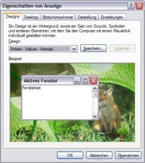 Desktop Theme: Ontario