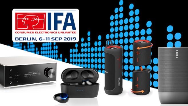 IFA 2018 Audio Highlights©Denon, Hama, Blaupunkt, Sonos, Stutenkerl - Fotolia.com, IFA, Computer Bild