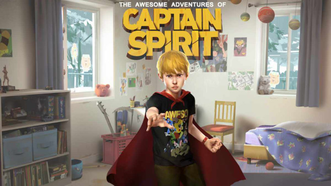 The Awesome Adventures of Captain Spirit © Square Enix