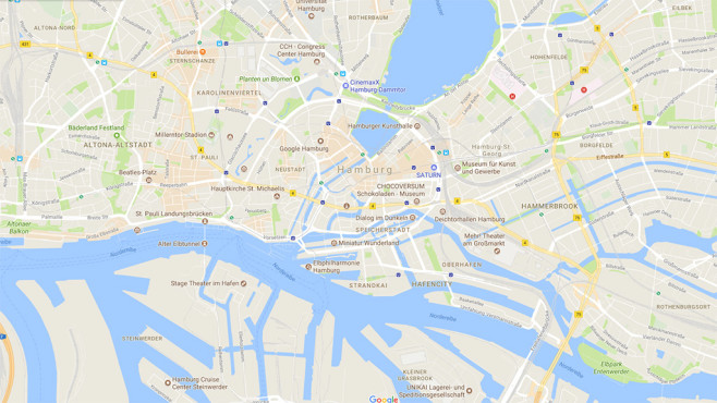 Google Maps: Update©Google Maps