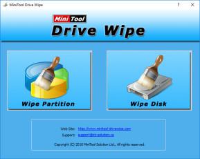 MiniTool Drive Wipe Free