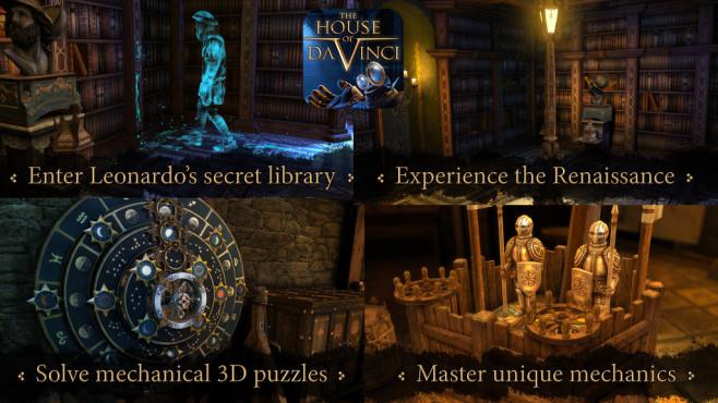 The House of da Vinci ©Blue Brain Games