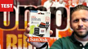Sandisk 400-GB-Karte©COMPUTER BILD