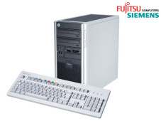 Zwei Computer von Fujitsu-Siemens