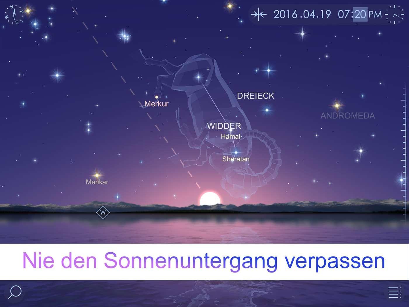 Screenshot 1 - Star Walk 2 (Windows-10-App)