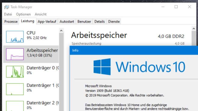 Windows 8/10: RAM-Typ ermitteln – welchen RAM habe ich?©COMPUTER BILD