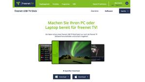 Freenet DVB-T2-Stick Update©Freenet