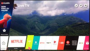 LG OLED B7 im Test: Super-Fernseher zum Super-Preis Die gewünschten Apps muss sich der Nutzer im etwas unübersichtlichen App-Store von LG zusammensuchen, kann sie dann aber sehr einfach in die Menüleiste verfrachten und dort blitzschnell starten.©COMPUTER BILD