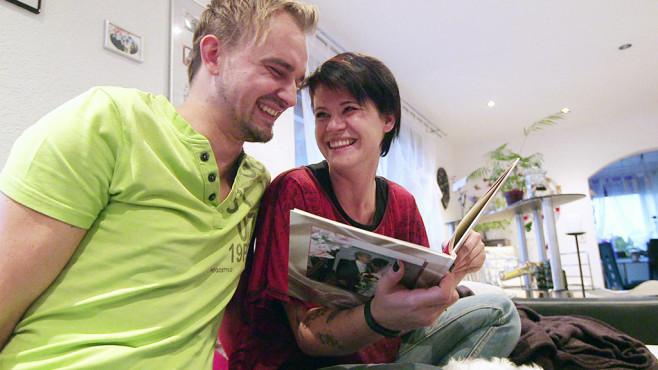 In einem Jahr wollen Marcel und Stephanie ein Baby haben. ©RTL