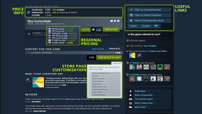 Augmented Steam©Augmented Steam, IsThereAnyDeal