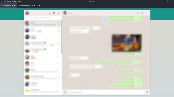 Altus (WhatsApp-Desktop) ©COMPUTER BILD