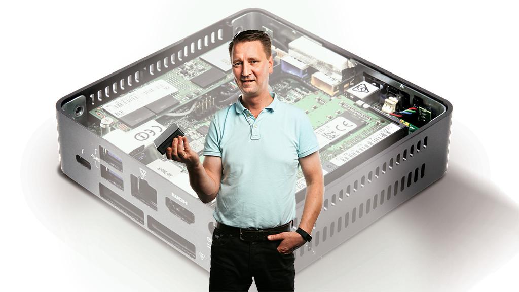 Wohnzimmer Pc Test, intel nuc 7i5bnk: mini-pc im test - computer bild, Design ideen