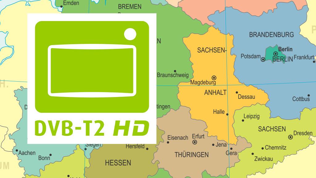 Dvb T2 Empfang Karte 2019.Dvb T2 Neue Empfangsgebiete 2019 Audio Video Foto Bild