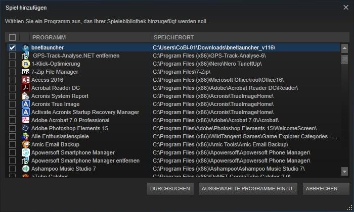 Screenshot 1 - Bnetlauncher