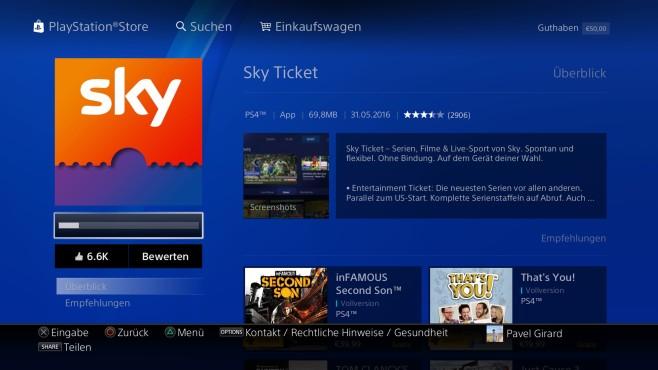 Sky Go Playstation