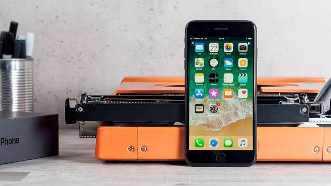 iPhone 8 und iPhone 8 Plus im Detail ©COMPUTER BILD