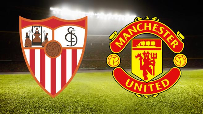 Champions League©FC Sevilla, Manchester United, ©istock/FangXiaNuo