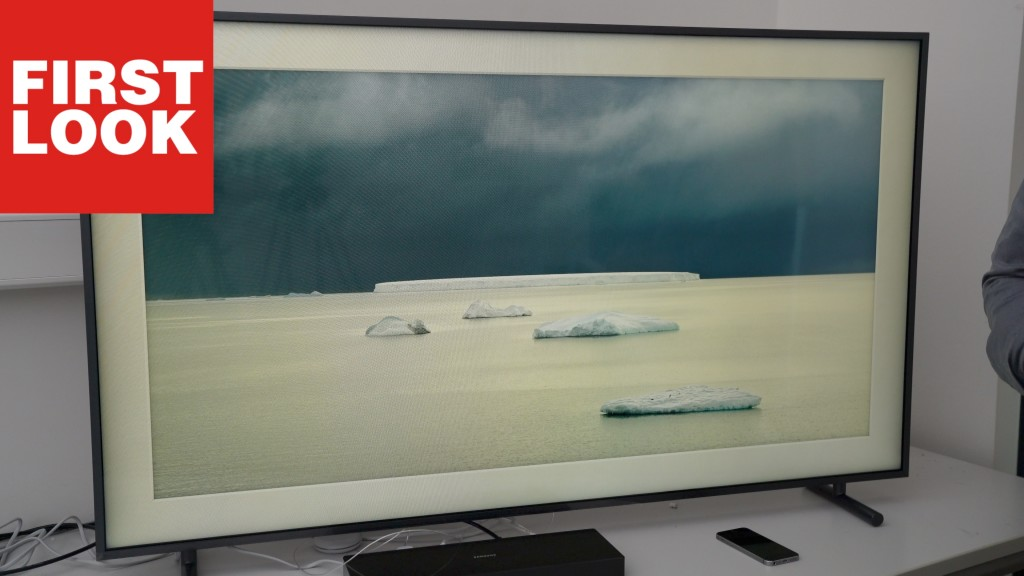 Samsung The Frame Superflacher Edel Tv Im Check Audio Video Foto Bild