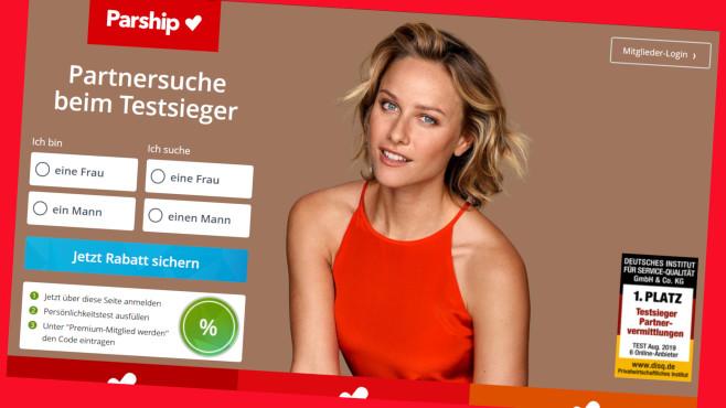 Exklusives Spar-Angebot für die Premium-Mitgliedschaft©Screenshot www.parship.de