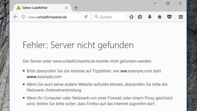 Manipulierter Browser: So leicht ändern Hacker die Startseite©COMPUTER BILD