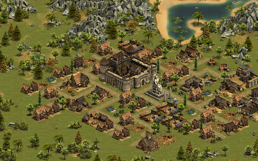 Screenshot 1 - Forge of Empires