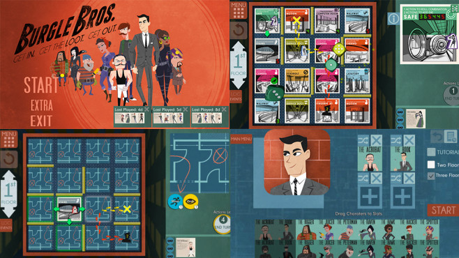 Burgle Bros © Fowers Games