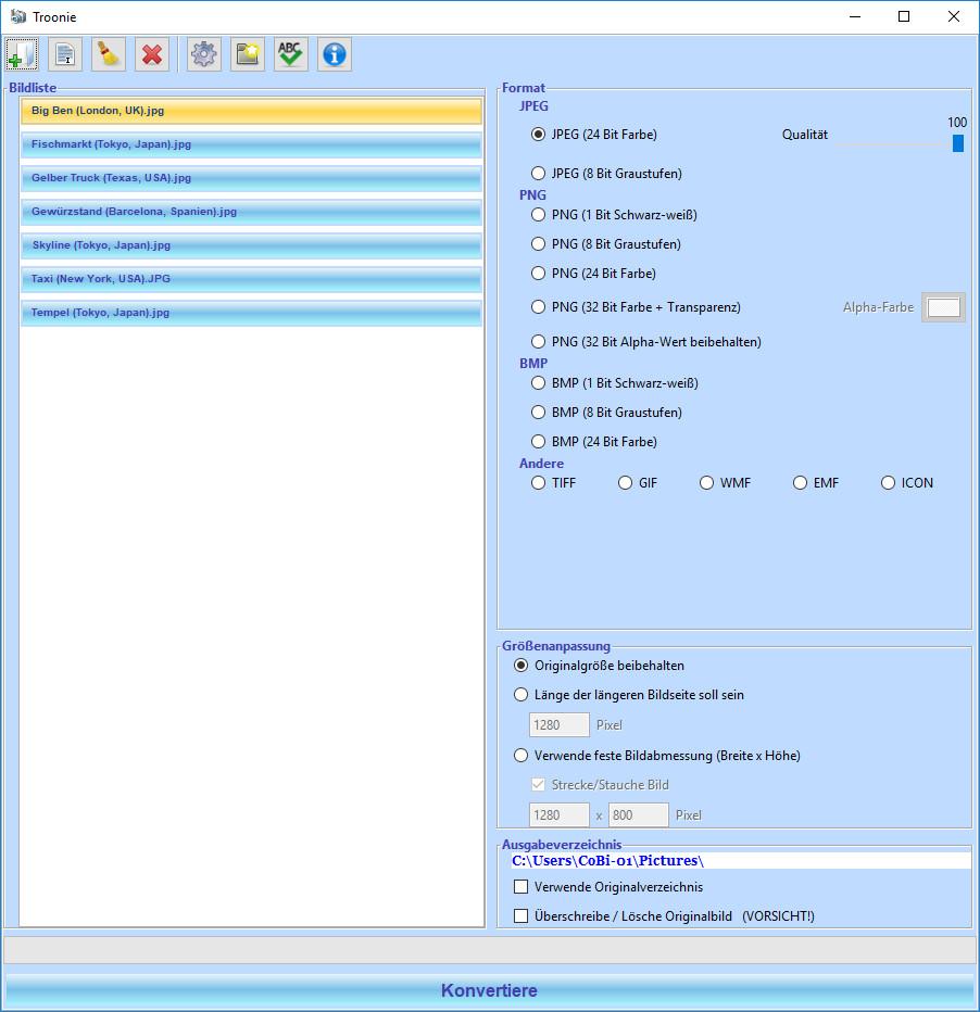 Screenshot 1 - Troonie