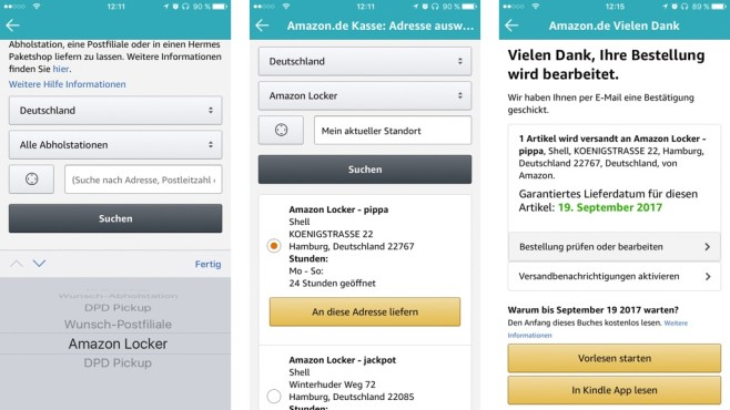 Amazon Locker © COMPUTER BILD
