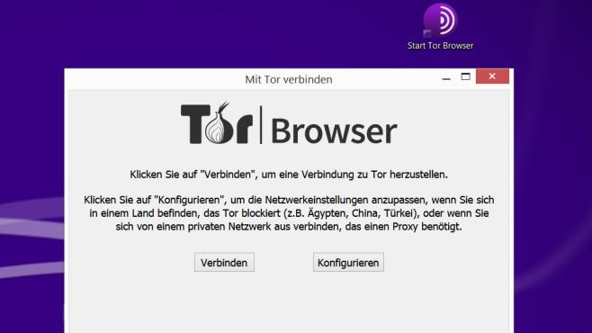 Start und Tor-Netzwerkeinstellungen©COMPUTER BILD