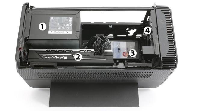 HP Omen Accelerator: Innenleben©COMPUTER BILD