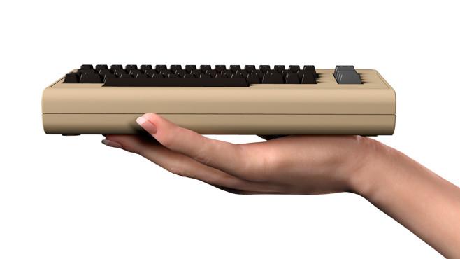THEC64 Mini: Kleiner als sein Vorbild©Koch Media