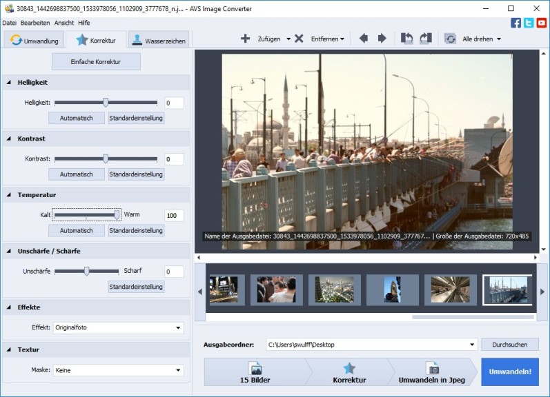 Screenshot 1 - AVS Image Converter
