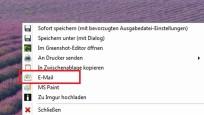 E-Mail-Versand und Paint-Weiterbearbeitung (1)©COMPUTER BILD