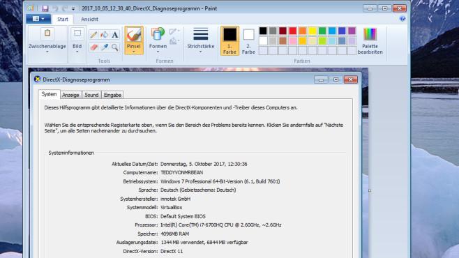 E-Mail-Versand und Paint-Weiterbearbeitung (2) ©COMPUTER BILD