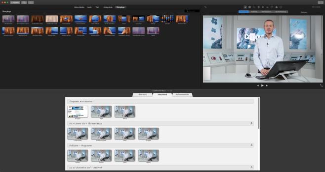 Screenshot 1 - iMovie (Mac)