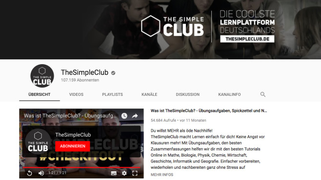 The Simple Club ©The Simple Club