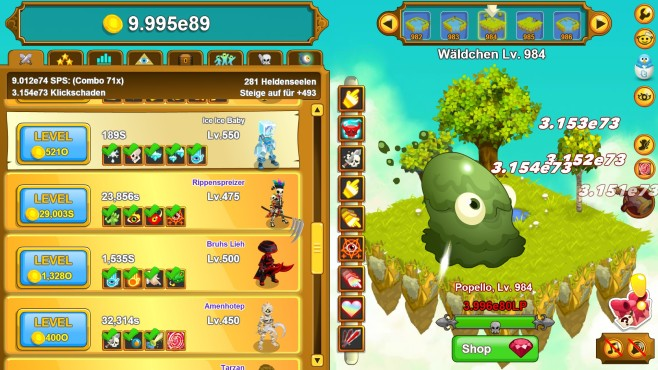 Clicker Heroes © Playsaurus