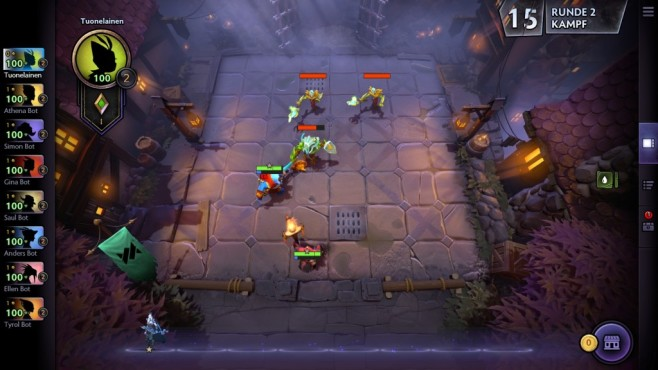 Screenshot Dota Underlords © COMPUTER BILD