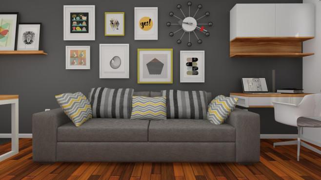 Leinwandbilder im Wohnzimmer - COMPUTER BILD