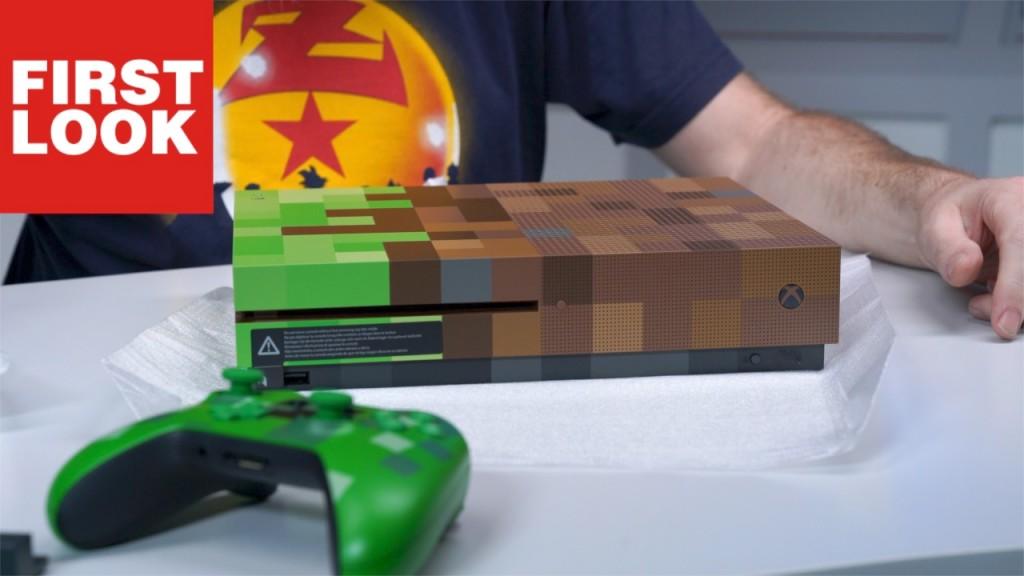 Unboxing Xbox One S MinecraftEdition COMPUTER BILD SPIELE - Minecraft xbox spielen