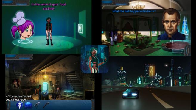 Technobabylon ©Wadjet Eye Games LLC