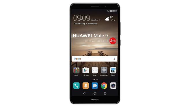 Platz 18: Huawei Mate 9 ©Huawei