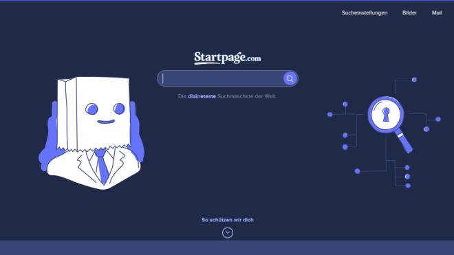 Startseite StartPage©StartPage.com
