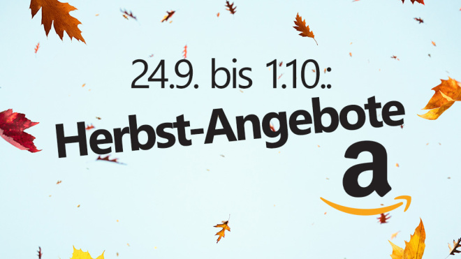 Amazon Herbst-Angebote © Amazon, ©istock/borchee