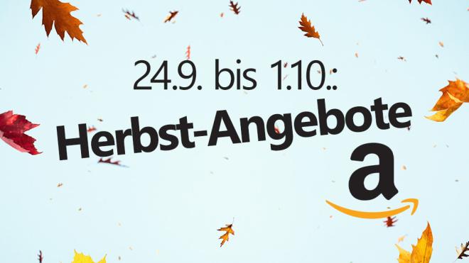 Amazon Herbst-Angebote©Amazon, ©istock/borchee