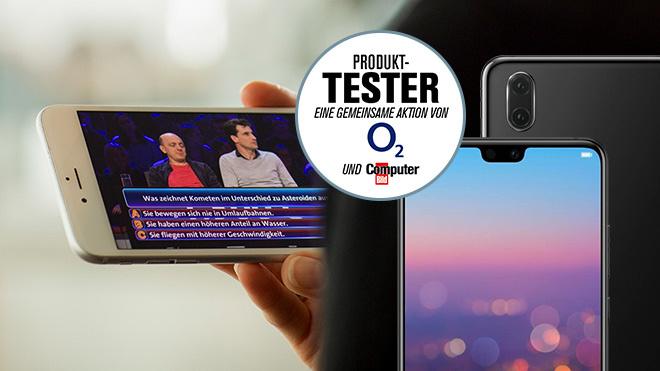 O2 TV testen©O2, Huawei, COMPUTER BILD